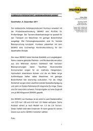 1 HUMBAUR PRÄSENTIERT ABSENKHÄNGER SENKO Gersthofen ...