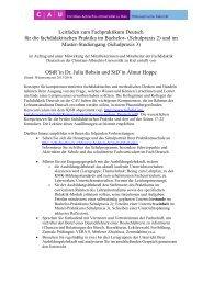 Leitfaden zum Fachpraktikum Deutsch - Neufassung 2013