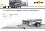 ALLROUNDER - Humbaur