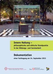 Innere Haltung - Evangelische Kirche Frankfurt am Main