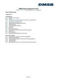 Sportliches Reglement Slalom 2014 - DMSB