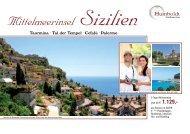 Mittelmeerinsel Sizilien - Humboldt Studienreisen