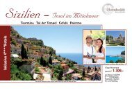 Sizilien - Insel im Mittelmeer - Humboldt Studienreisen