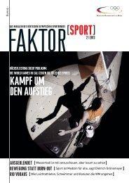 Ausgabe 2/2013 - Der Deutsche Olympische Sportbund
