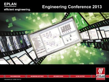 Engineering Conference 2013 - Eplan