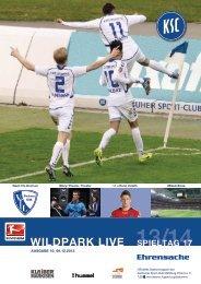 Stadionzeitung 17. Spieltag (KSC - VfL Bochum) - Karlsruher SC