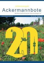 Ackermannbote - Ackermannbogen eV