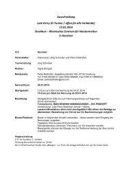 Ausschreibung Late Entry (D-Turnier / offen für alle Verbände ... - EWU