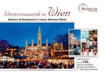 Winterromantik in Wien - Humboldt Studienreisen