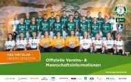 Pressemappe der HSG Wetzlar Saison 2013/2014