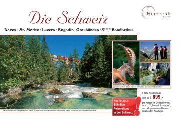 Davos . St. Moritz . Luzern . Engadin . Graubünden . 5*****Komfortbus