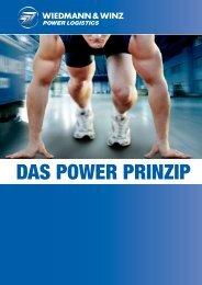 DAS POWER PRINZIP - Wiedmann & Winz Int. Spedition GmbH