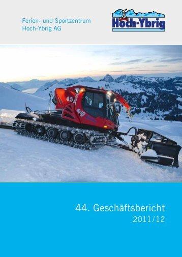 und Sportzentrum Hoch-Ybrig AG 2011/12