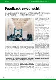 Forum Nachhaltig Wirtschaften - HUMBOLDT-VIADRINA School of ...