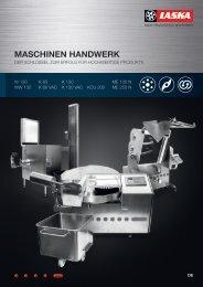 MASCHINEN HANDWERK - Maschinenfabrik Laska