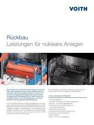 Produktblatt Rückbauprojekte (2.95 MB) - Voith