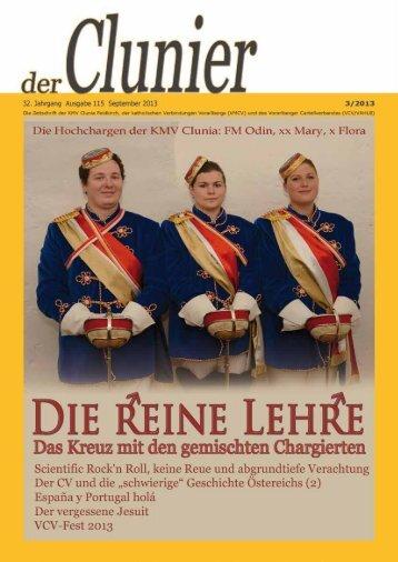 Clunier 3/2013 - KMV Clunia Feldkirch