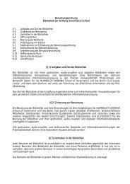 Benutzungsordnung der Bibliothek - HUMBOLDT-VIADRINA School ...