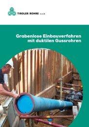 Katalog Grabenlose Einbauverfahren - Tiroler Röhren und ...