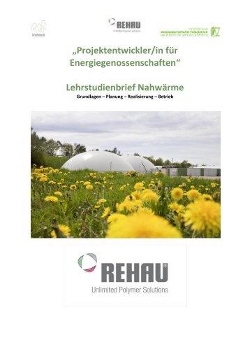 Lehrstudienbrief Nahwärme - klimakreis.org