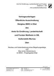 Vertragsunterlagen - Amt für Ernährung, Landwirtschaft und Forsten ...