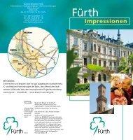 Image-Broschüre: Fürth-Impressionen (Teil 1) - Tourismus Nürnberg