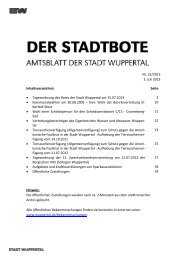 Microsoft Word - 00157362.doc - Stadt Wuppertal