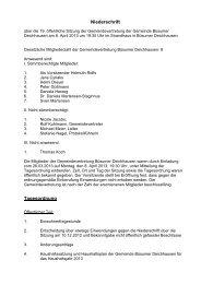 Sitzung vom 08.04.2013 - Amt Büsum-Wesselburen