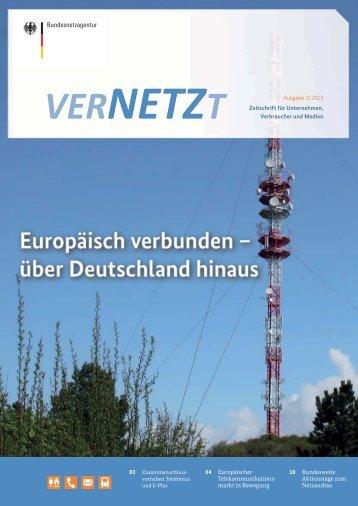 VERNETZT Ausgabe 02/2013 - Bundesnetzagentur