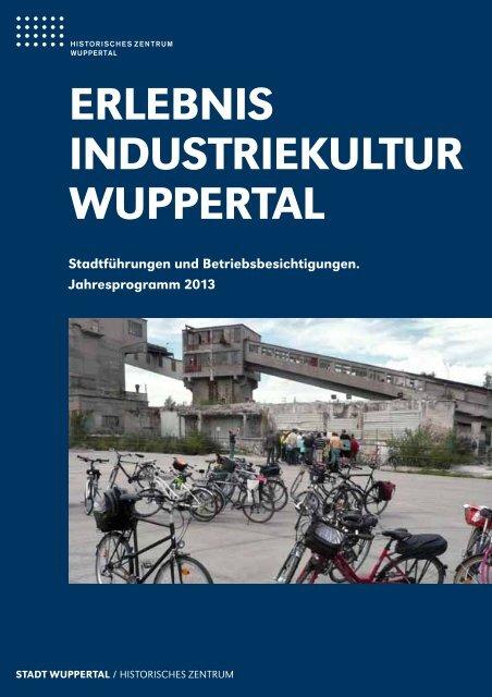 erlebnis industriekultur Wuppertal - Stadt Wuppertal