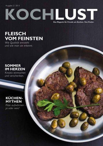 FleiScH VoM FeinSten - Fissler GmbH