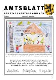 Aktuelles Amtsblatt - Stadt Herzogenaurach