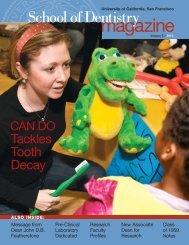 2010 - UCSF School of Dentistry - University of California, San ...