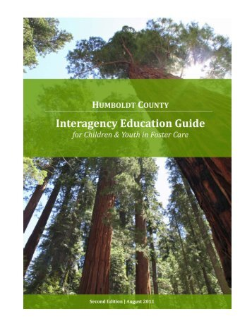 Interagency Education Guide - Humboldt County Office of Education
