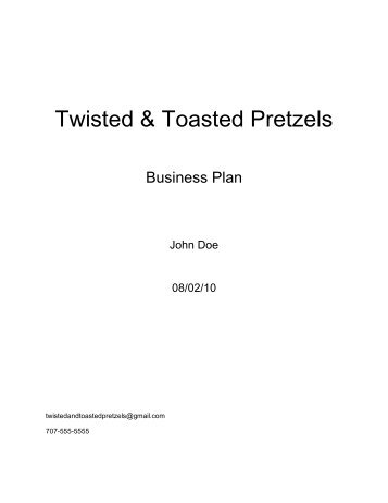 Twisted & Toasted Pretzels