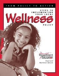 Wellness Policy: A Guide - Minnesota Department of Health