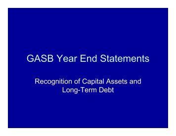 GASB Conversions - Slide Show