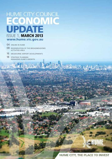 issue 1, MARCH 2013 - Hume City Council