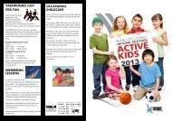 Active Kids Brochure 2013 - Hume City Council