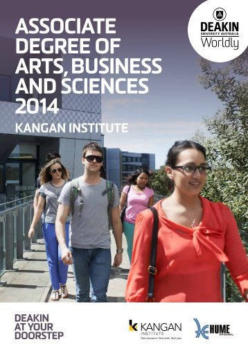Kangan Institute - Deakin University