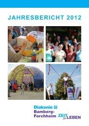 Jahresbericht 2012 - Diakonisches Werk Bamberg - Forchheim eV