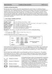 Beuth Hochschule Variablen als Bojen darstellen WS13/14, S. 1 ...
