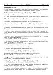 Beuth Hochschule Anfangs-Quizz MB2-ALG WS13/14, S. 1 Anfangs ...