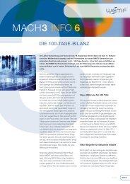 MACH3 info 6 - WEMF AG für Werbemedienforschung