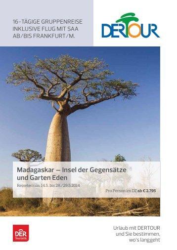 Madagaskar - Flughafen Frankfurt