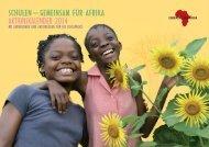 Kalender - Gemeinsam für Afrika