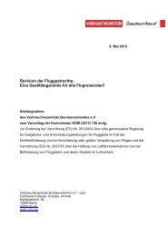 Stellungnahme zur Revision der Fluggastrechte-Verordnung ... - vzbv