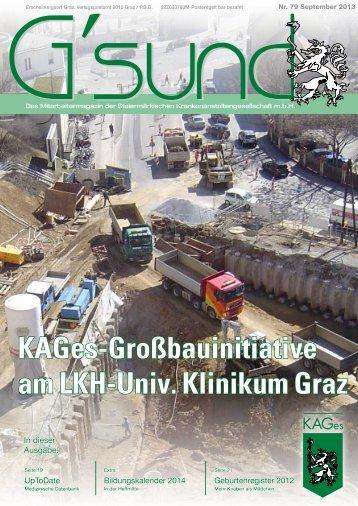 PDF der Aktuellen Ausgabe - G'sund.net