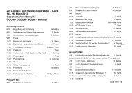 Lungen- und Pleurasonographie - Kurs - Degum