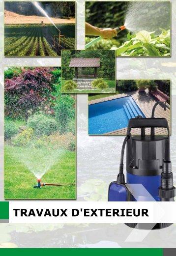 TRAVAUX D'EXTERIEUR